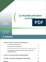 DI Fiscalite Petroliere en France Juin 06