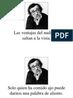 Woody Allen Frases