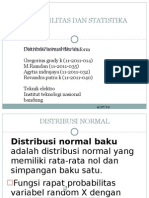 Distribusi Normal Dan Uniform