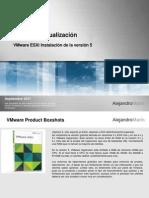 Guía de Instalación ESXi 5