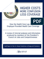 April 2012 Health and Jobs Report RNC