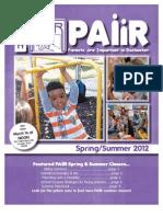 PAIIR Spring-Summer 2012 Newsletter