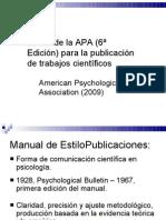 Clase APA y Estilo de Publicaciýn doctorado 1