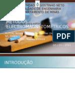 MÉTODOS ELECTROMAGNETOMETRICOS