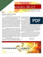2012 05 Newsletter