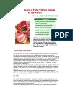 Carne Vacuna o Pollo