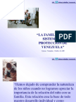 LA FAMILIA EN EL SISTEMA DE PROTECCIÓN DE VENEZUELA