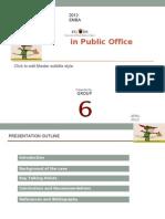 Robin Hud in Public Office