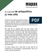 Antipolítica