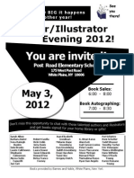 Author Flyer for 2012