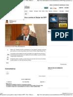 27-04-12 PRI promueve juicio político contra el titular de SFP