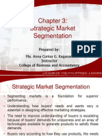 Chapter 3_Strategic Market Segmentation