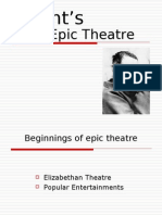Brecht's Theatre