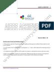Aieee Achiever 4 - Solutions