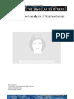 Jakobsen D; Rhetorical Web-Analysis of KurzweilAI.net Paper 2006