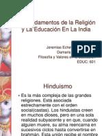 Presentación de la india y Buda