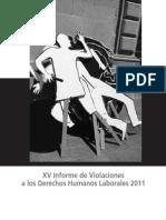 Violación a los Derechos Humanos Laborales en México en 2011