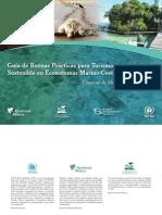 Guía de buenas prácticas para turismo sostenible en ecosistemas marino - costeros
