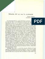 Astrada-Relacion Del Ser Con La Ec-sistencia