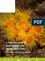 A practical guide to good practice for marine - based tours with a particular focus in the Galápagos