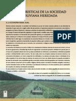 Caracteristicas Sociedad Rural en Bolivia