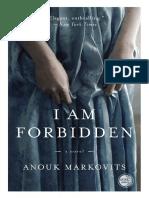I Am Forbidden by Anouk Markovits - Excerpt