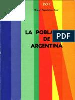 La Población de Argentina (CICRED 1974)