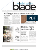 WashingtonBlade.com Volume 43, Number 17, April 27, 2012