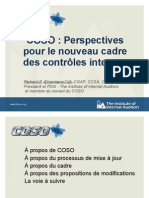 Proposed Revisions to the COSO Framework  -French
