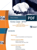 Korean Case - MTEF