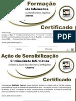 CERTIFICADOS CRIMINALIDADE INFORMÁTICA