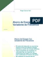 Ahorro Energia Variadores de Frecuencia
