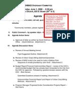 20090601 - GGHCDC MAD Oversight Committee