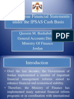 Implementing Cash IPSAS Financial Statements