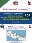 PFM Reform in Nepal