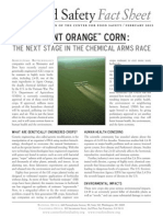 Agent Orange Corn Fact-sheet