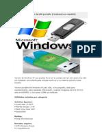 Windows Xp Portable y Aplicaciones