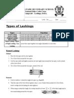 Lashings (Notes)