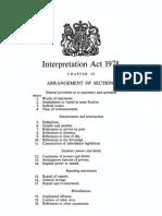 Interpretation Act 1978