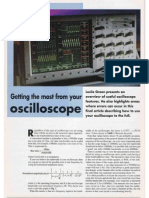 Getting the most from your oscilloscope Part IV
