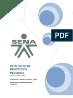 Elementos de Proteccion Personal Sergio