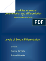 Abnormalities of Sexual Determination and Differentiation