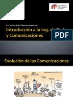 Semana 01 - Historia de Las Telecomunicaciones