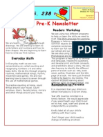 Prek Newsletter 08-09