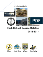 Santa Clara High School Catalog