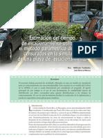 distribuciones estacionamientos estudio