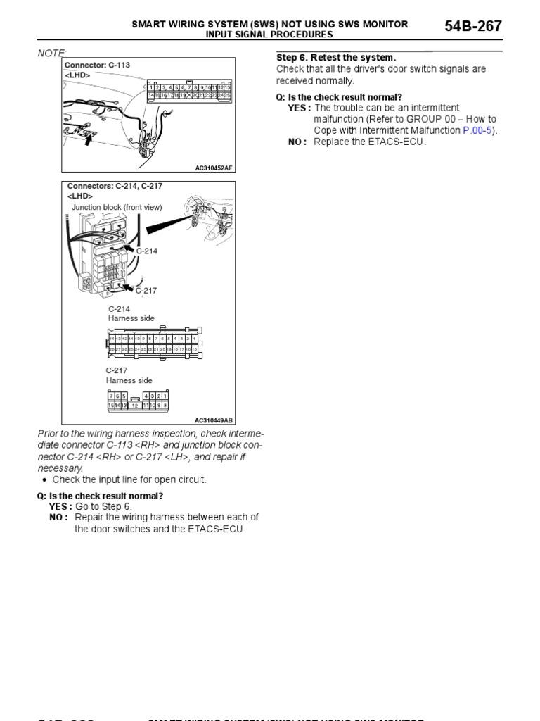 Lancer Wiring Diagram Split Second Free Download Mitsubishi Evo 2001 Ix Power Supply Electrical Connector