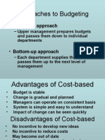 Zero Base Budgeting A and Performance Budgeting