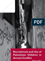 Recruitment and Use of Palestinian Children in Armed Conflict