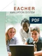 teacher evaluation users guide 20110215